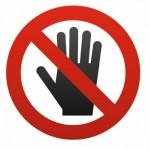 Sticker Interdit / interdiction de fumer