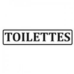 Sticker Toilettes homme ou femme